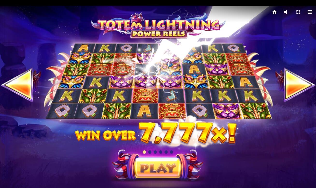 Totem Lightning Power Reels Slot Bonus