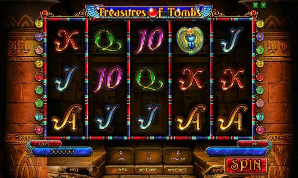 Treasures of Tombs Gameplay