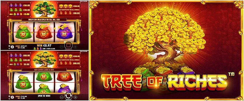 Tree of Riches Slot Gameplay