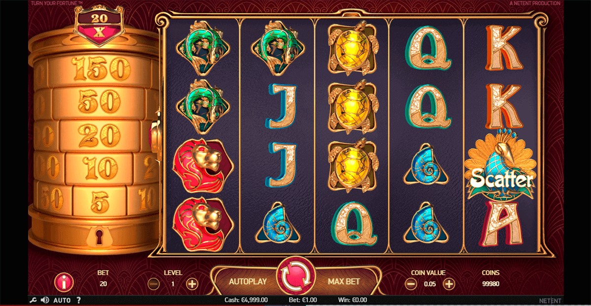 Turn Your Fortune Slot Gameplay