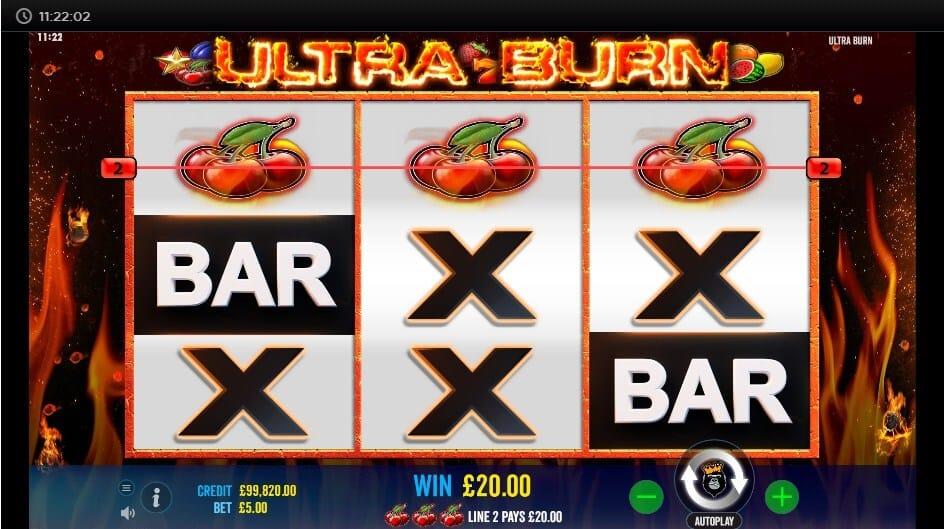 Ultra Burn Bonus