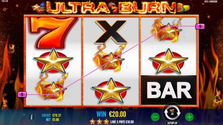 Ultra Burn Gameplay