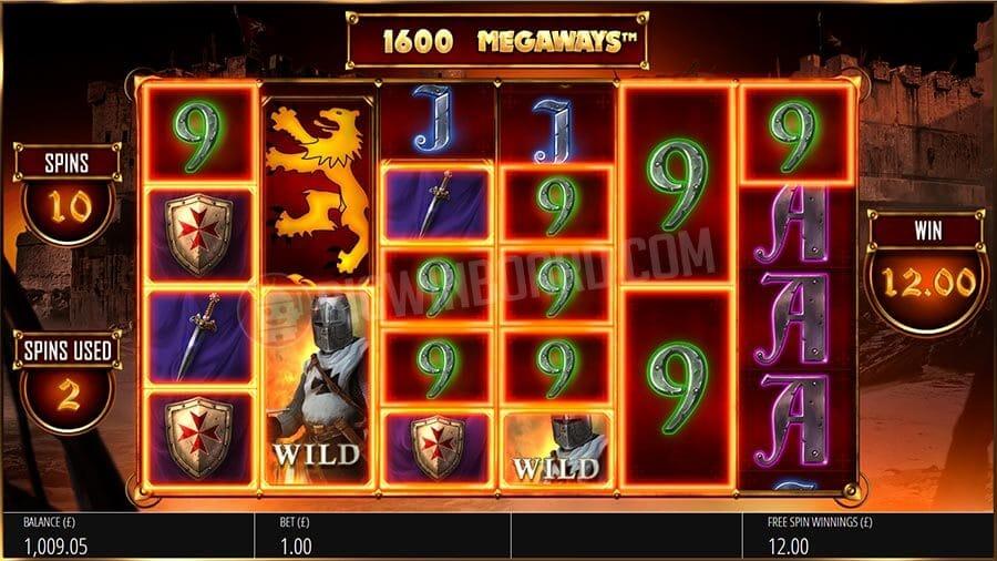 Valletta MegaWays Slot Bonus