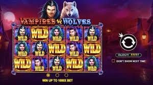 Vampires vs. Wolves Slot Bonus