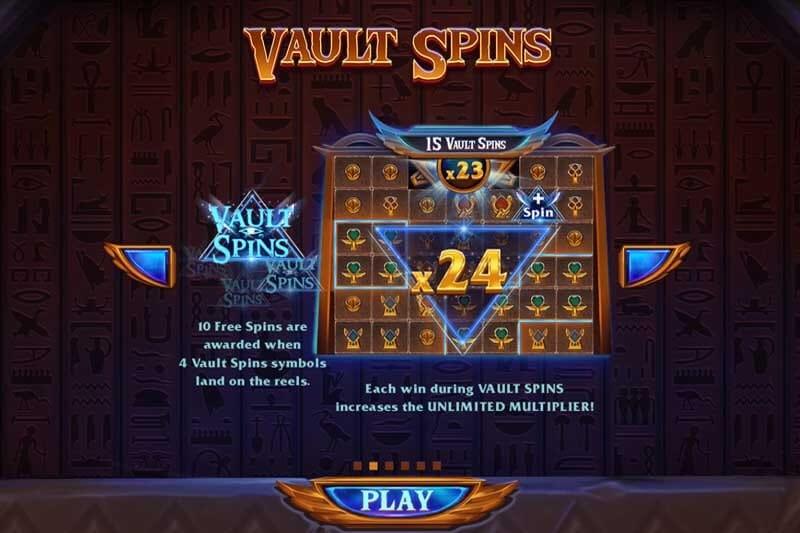 Vault of Anubis Slot Bonus