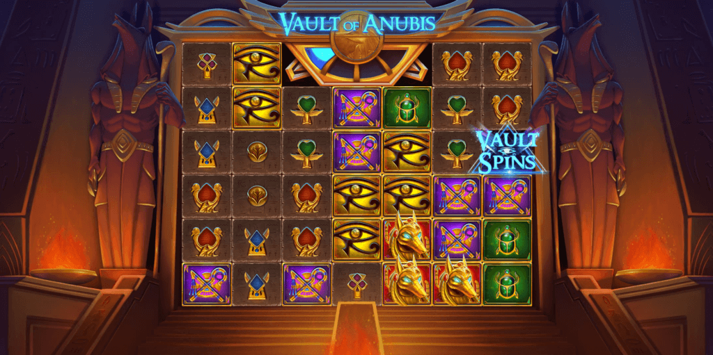 Vault of Anubis Slot Gameplay