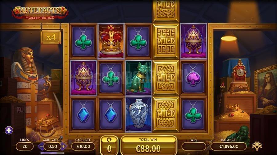 Vault of Fortune Slot Gameplay