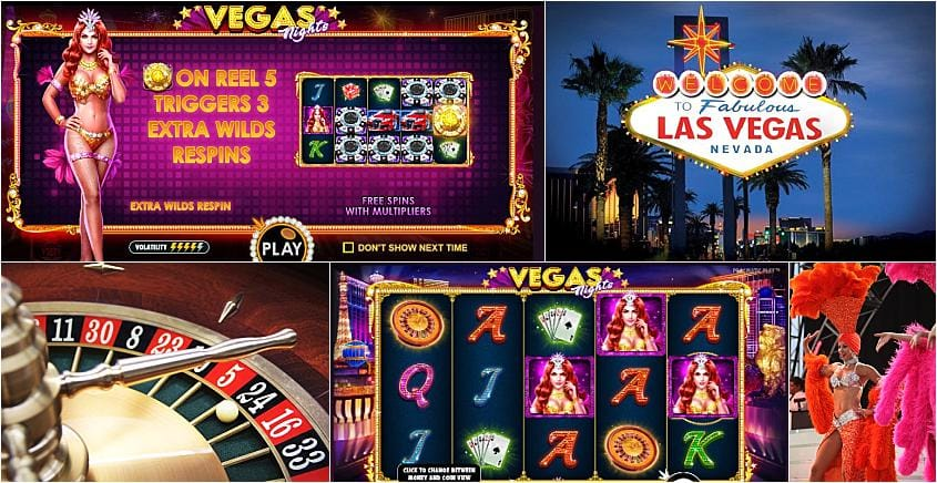 vegas nights slots online