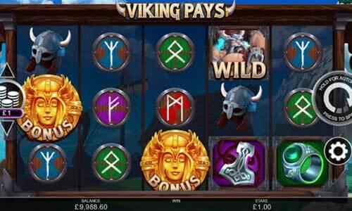 Viking Pays Slot Bonus