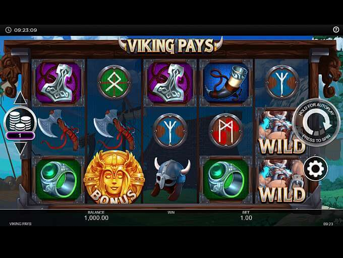 Viking Pays Slot Gameplay