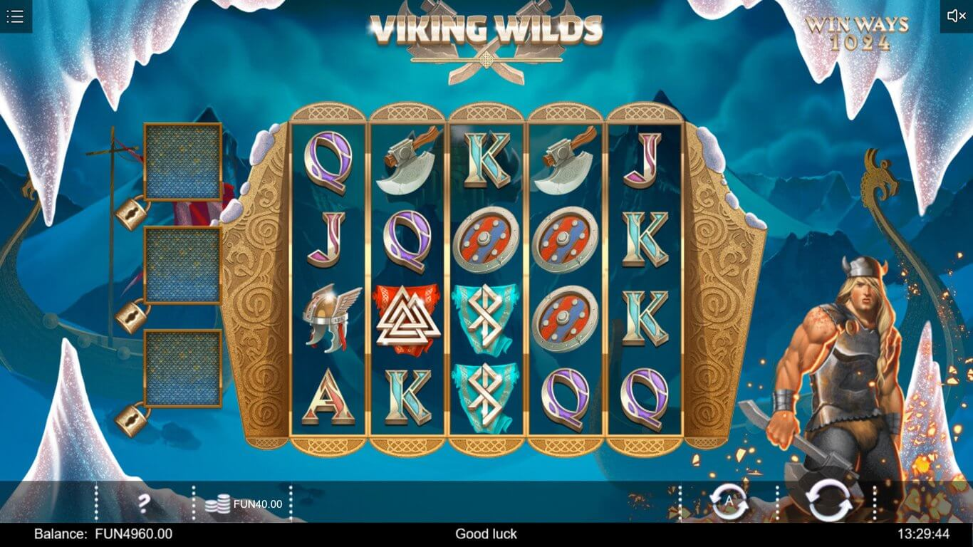 Viking Wilds Slot Gameplay