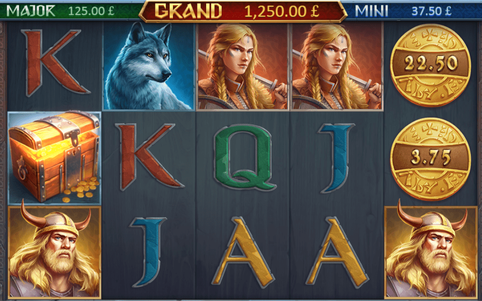 Viking Fortune: Hold & Win gameplay casino