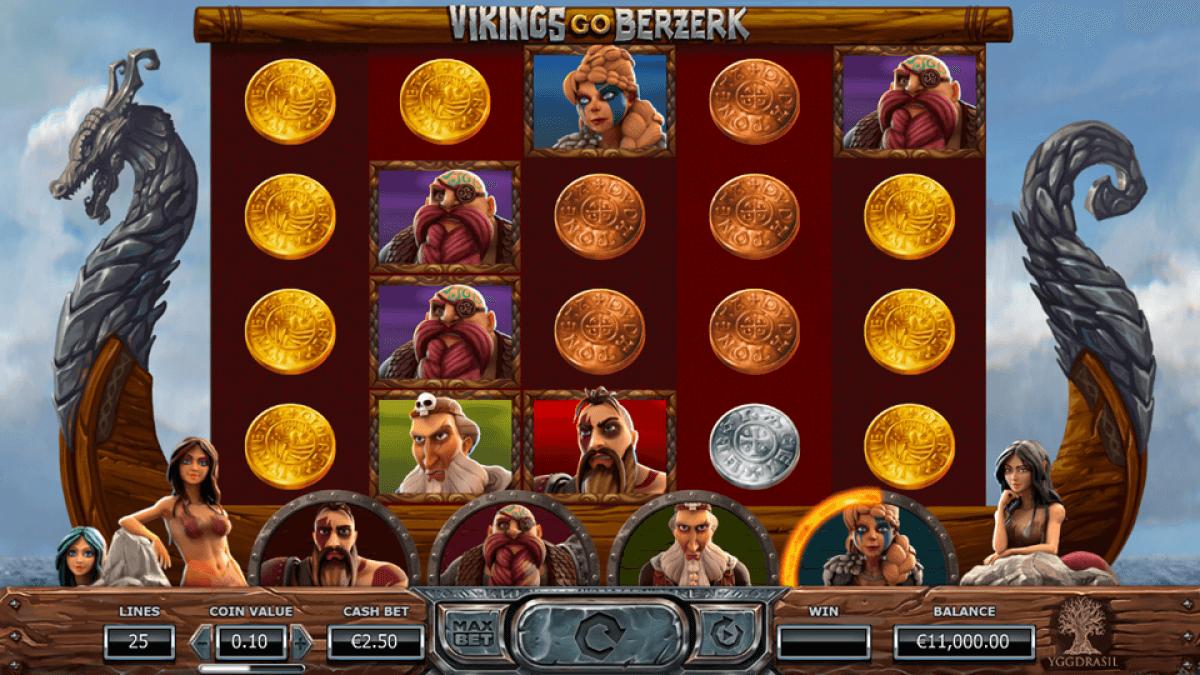 Vikings Go Berzerk Slot Bonus