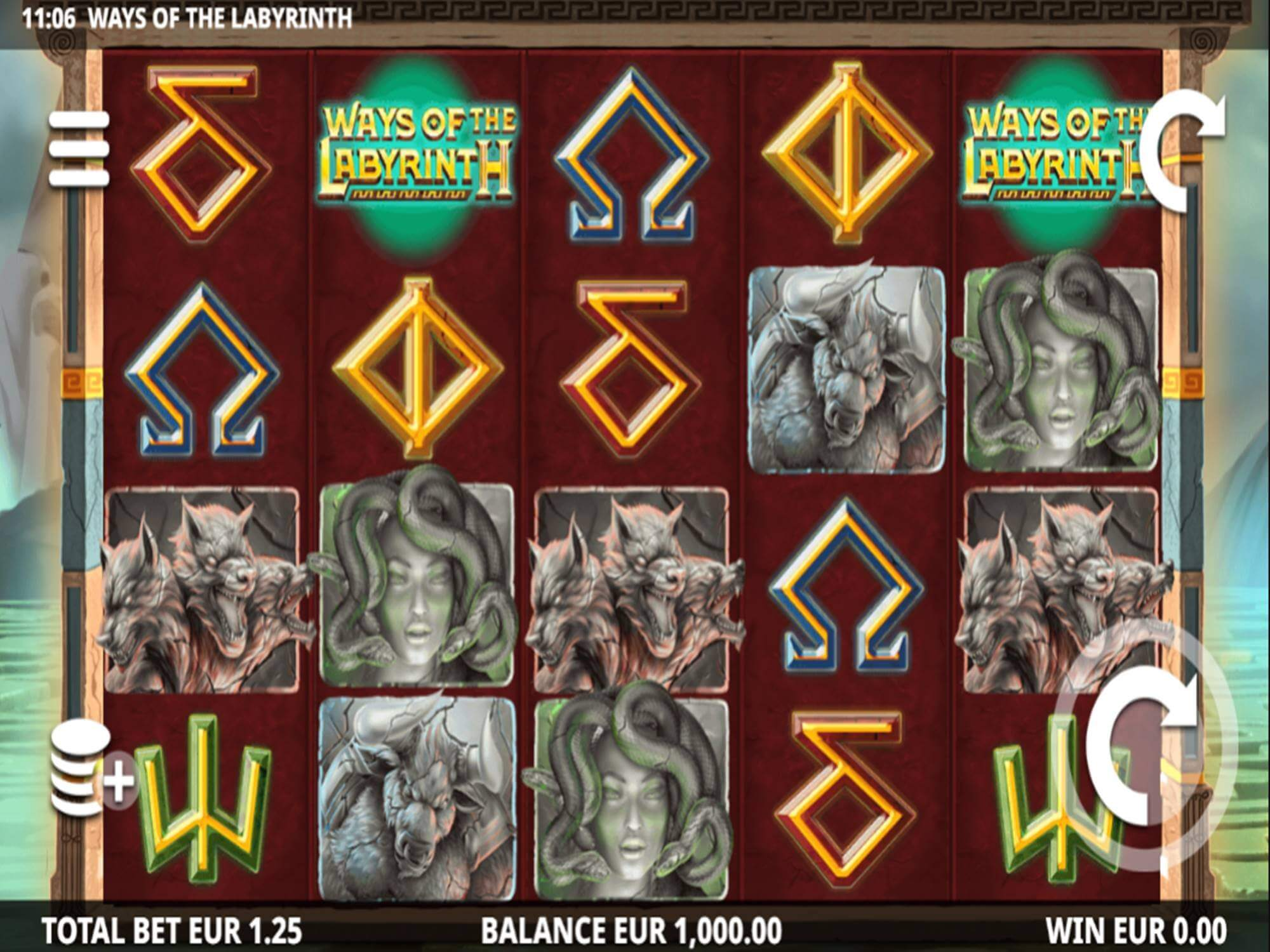 Ways Of The Labyrinth Slot Gameplay
