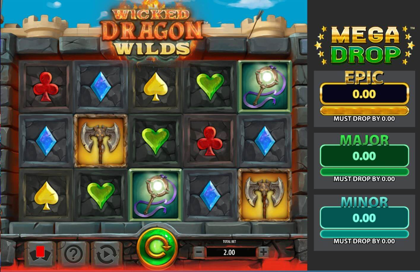 Wicked Dragon Wilds Slot Gameplay