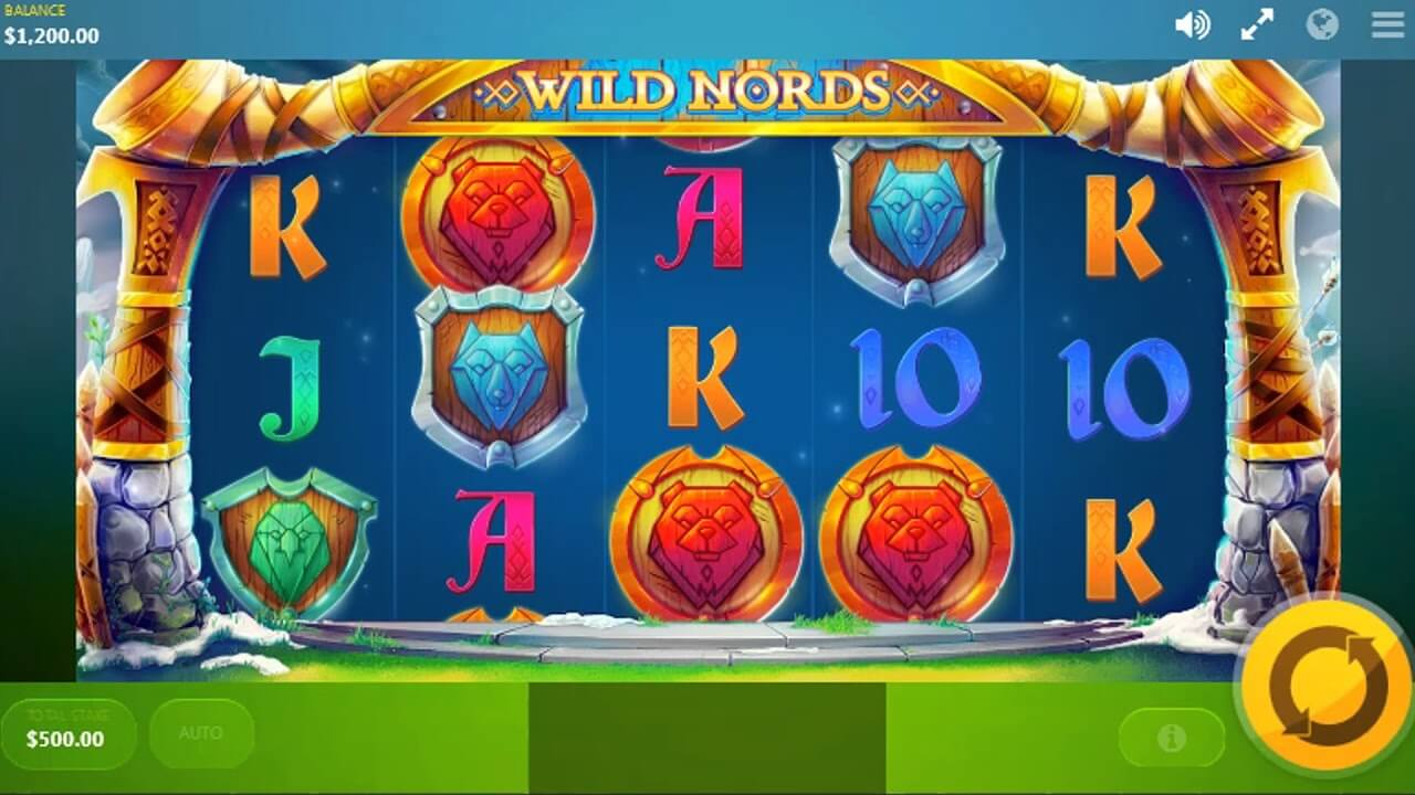 Wild Nords Slot Gameplay