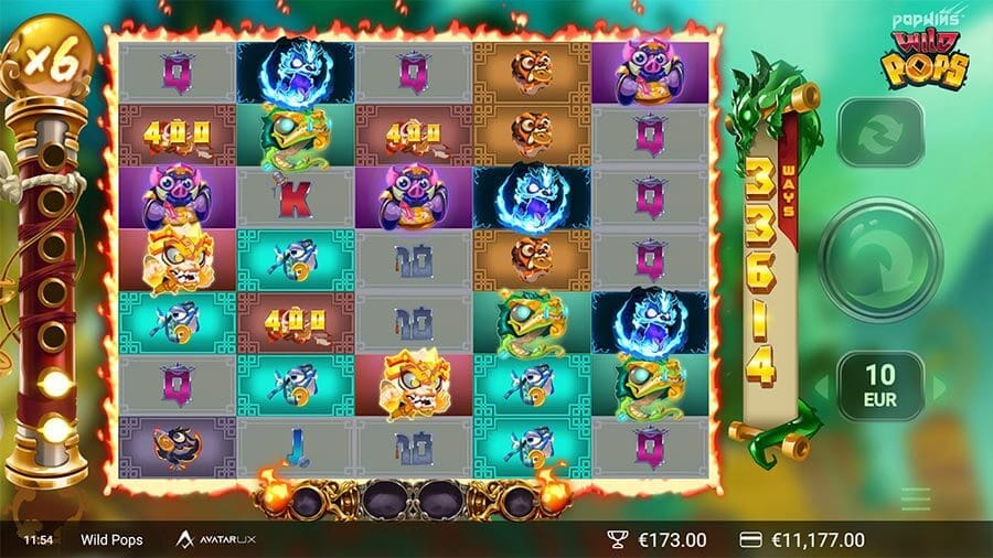 Wild Pops Slot Gameplay