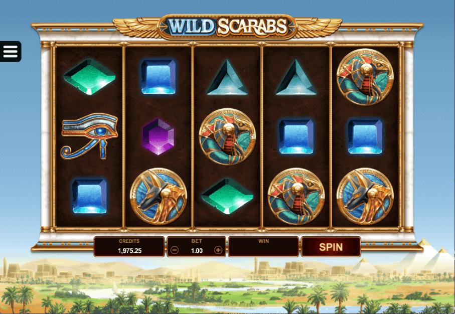 Wild Scarabs Bonus