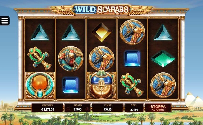 Wild Scarabs Gameplay