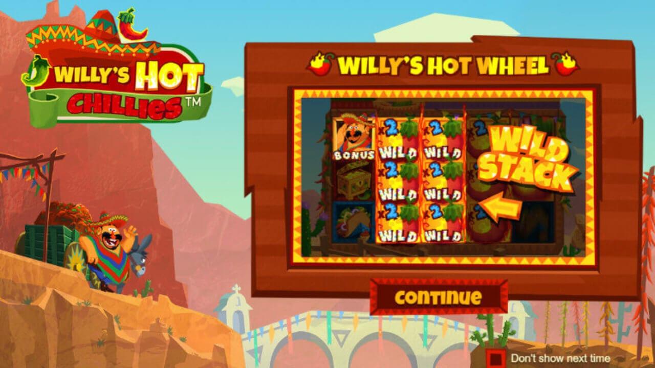 Willys Hot Chillies Slot Bonus