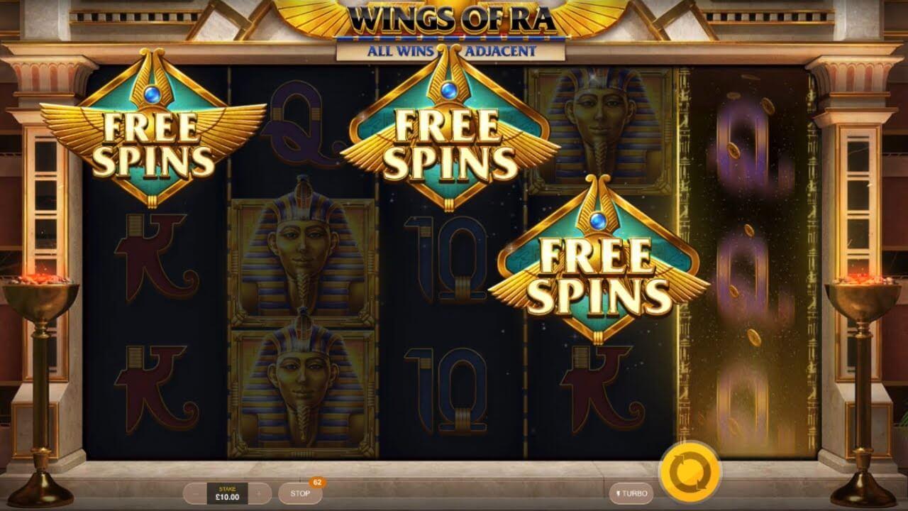 Wings of Ra Bonus