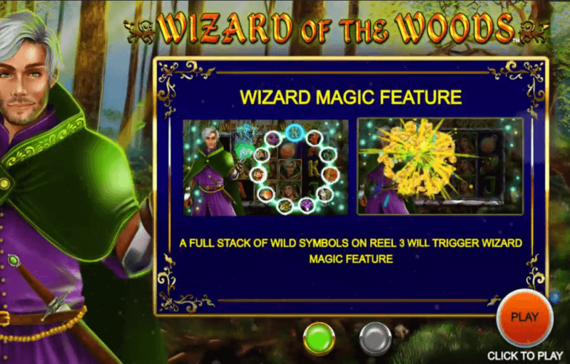 Wizard of the Woods Bonus