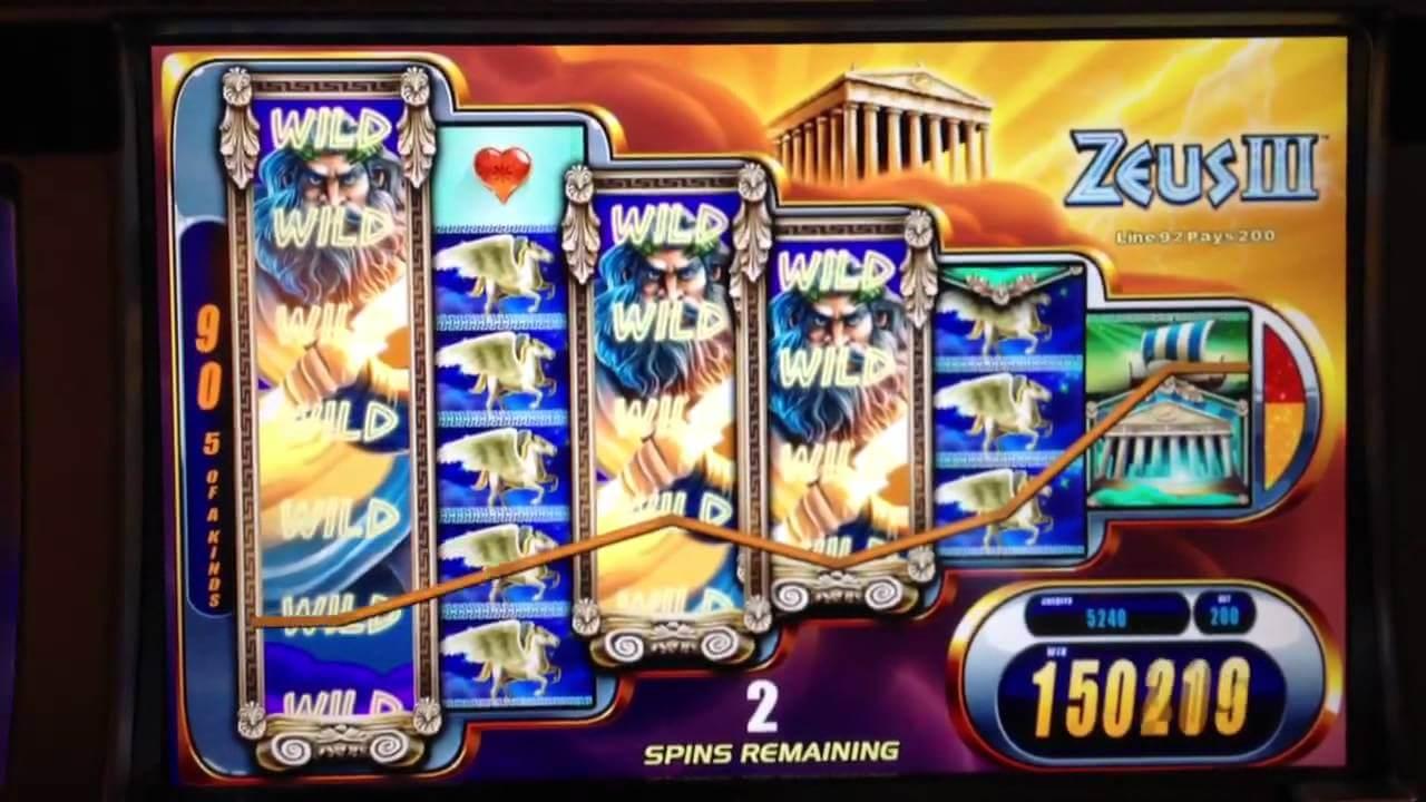 Zeus III Slot Bonus