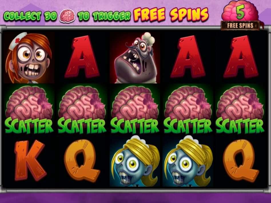 Zombie Hoard Slot Bonus