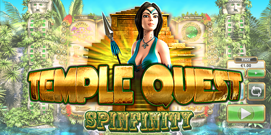 temple quest slots game