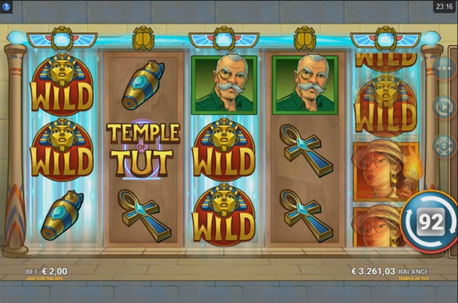 temple of tut online slots