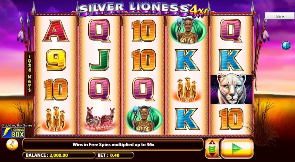 silver lioness game online