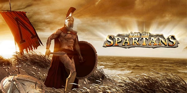 Age of Spartans slot game logo