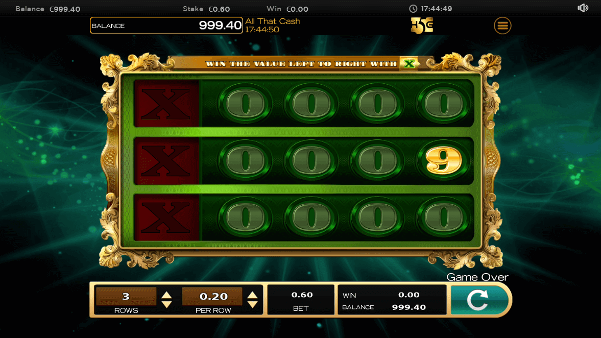 All that Cash Slot gameplay