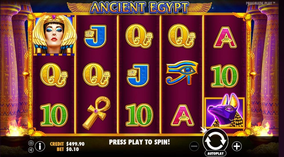 ancient egypt game slots