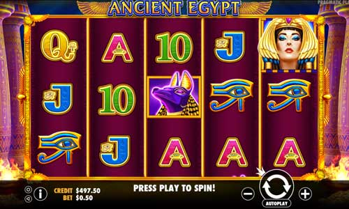 ancient agypt slots online game