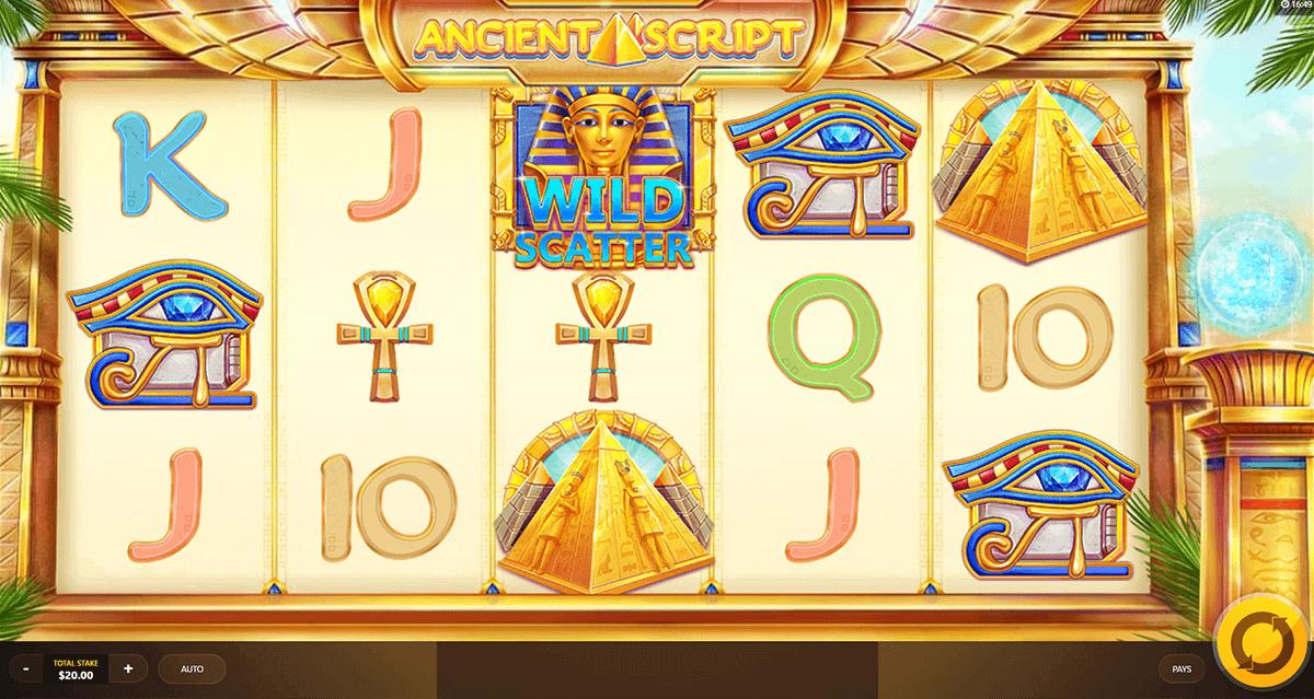 Ancient Script Gameplay Casino