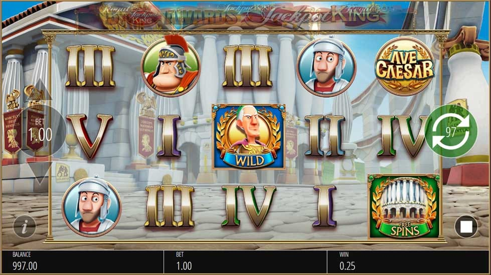 Ave Caesar gameplay casino