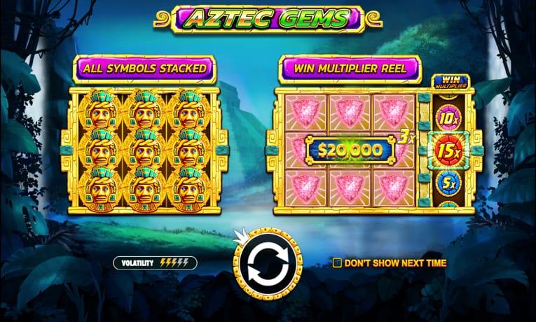 aztec slots online bets