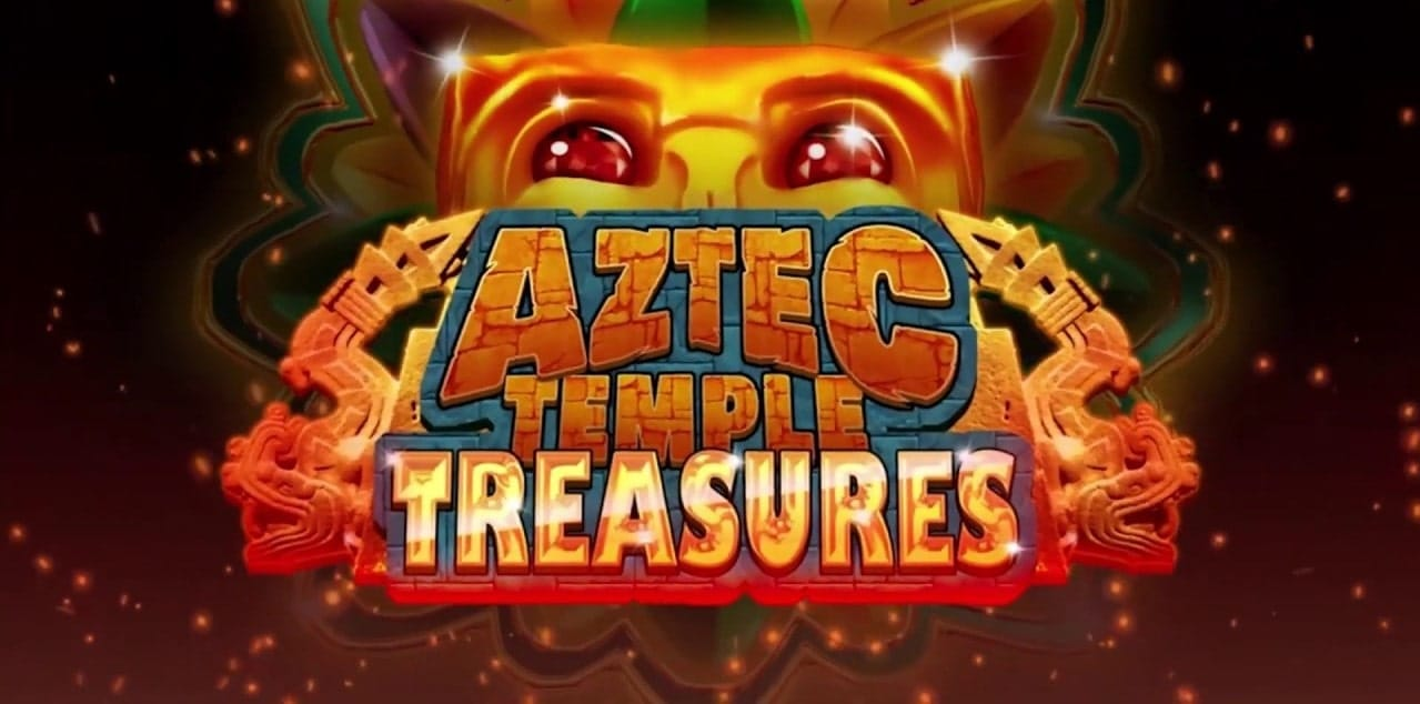 aztec temple treasures slot logo