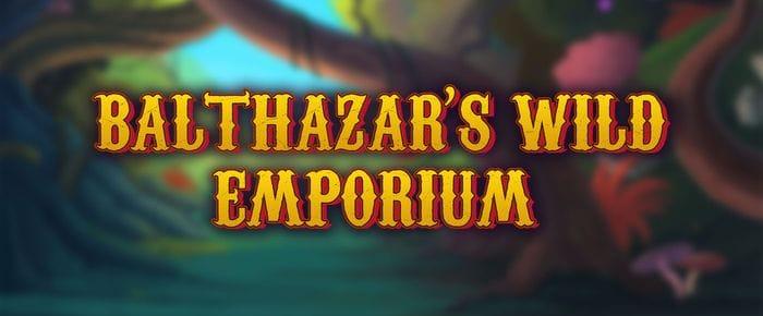 Balthazar's Wild Emporium slot logo