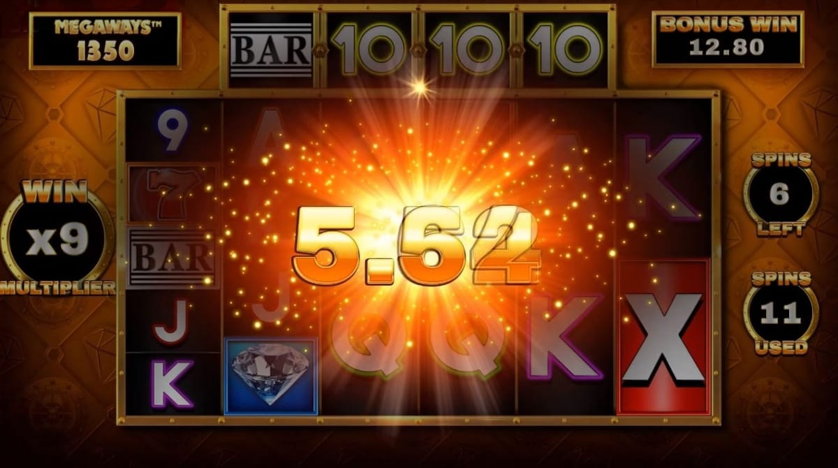 Bar-x Megaways gameplay casino