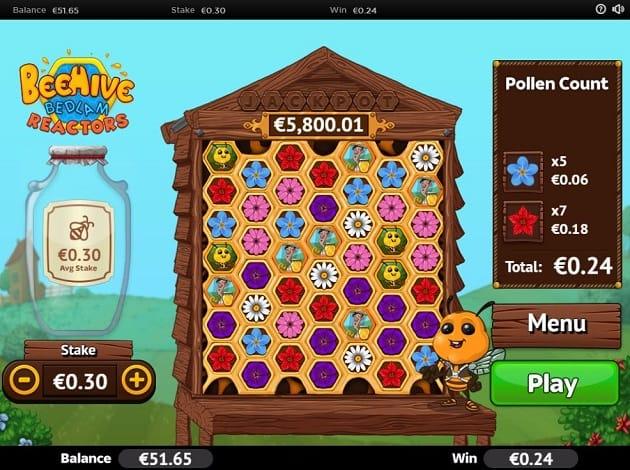 Online slot Beehive Bedlam gameplay
