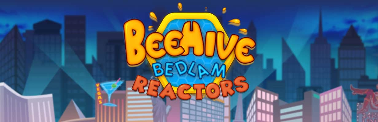 Beehive Bedlam slot logo