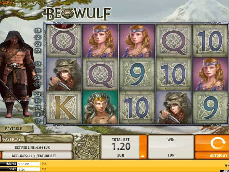 beowulf slots play game