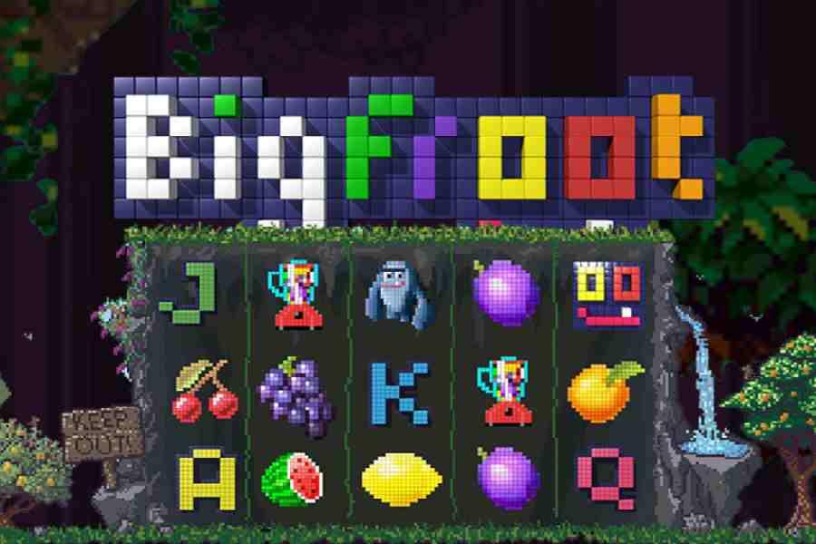 big froot logo slots game