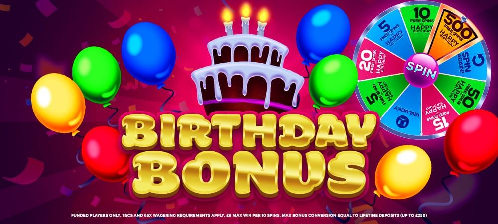 Birthday Bonus Barbados Bingo
