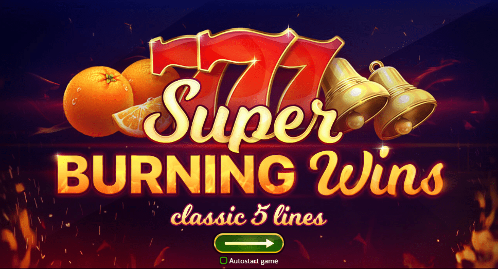 super burning wins slots