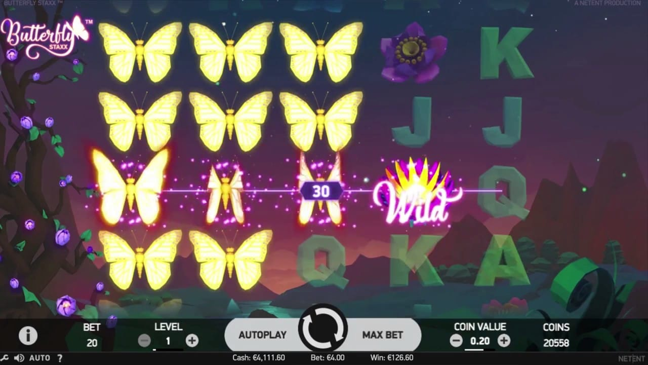 Butterfly Staxx screenshot