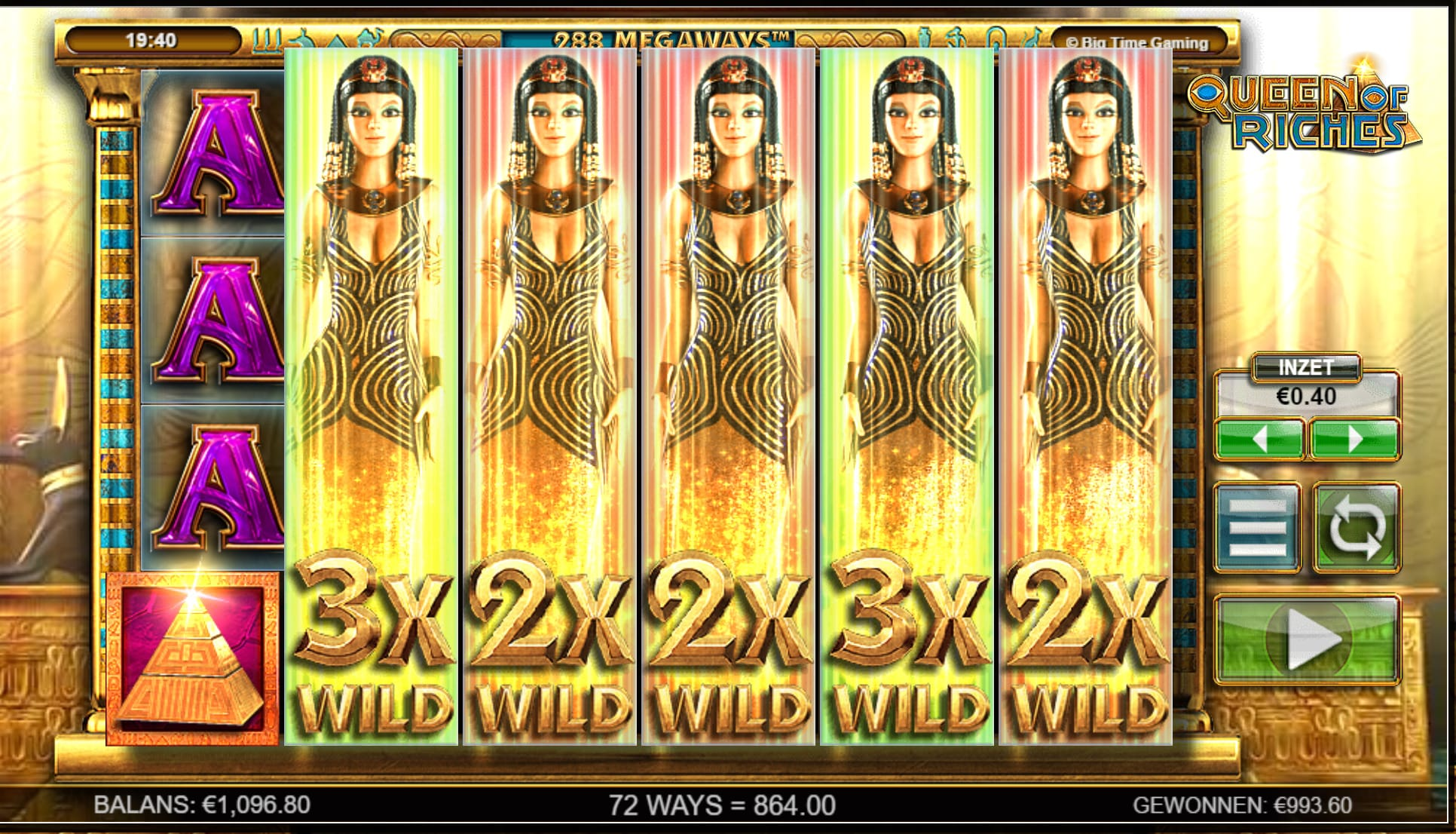 queen of riches slots online bets