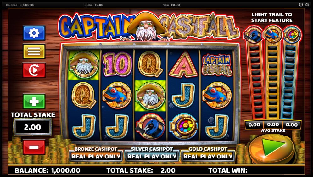 Captain Cashfall gameplay
